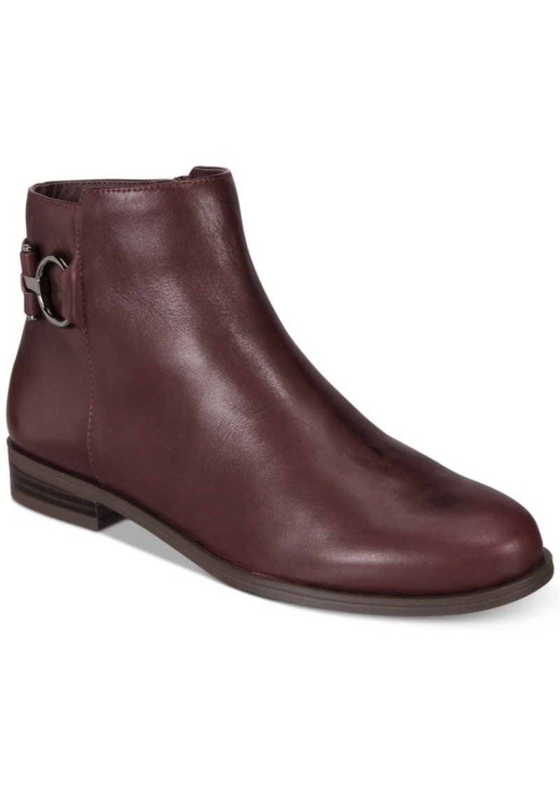 e093367d4 Alfani Women's Ayaa Step 'N Flex Flat Ankle Booties, Created for Macy's Women's  Shoes