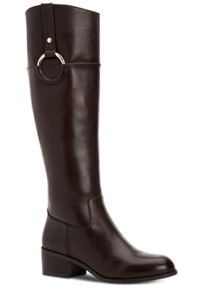 Alfani Women's Step 'N Flex Briaah Riding Boots, Created for Macy's Women's Shoes