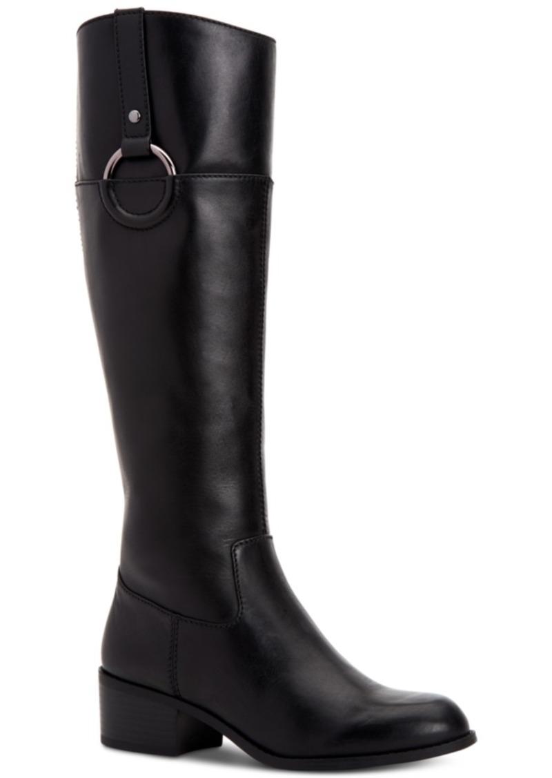 Alfani Women's Step 'N Flex Briaah Riding Boots, Created for Macy's Women's Shoes