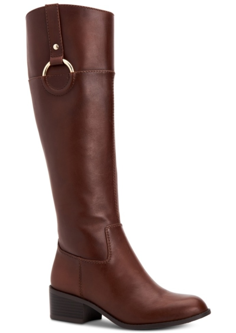 100bb436941 Alfani Alfani Women s Step  N Flex Briaah Wide-Calf Riding Boots ...