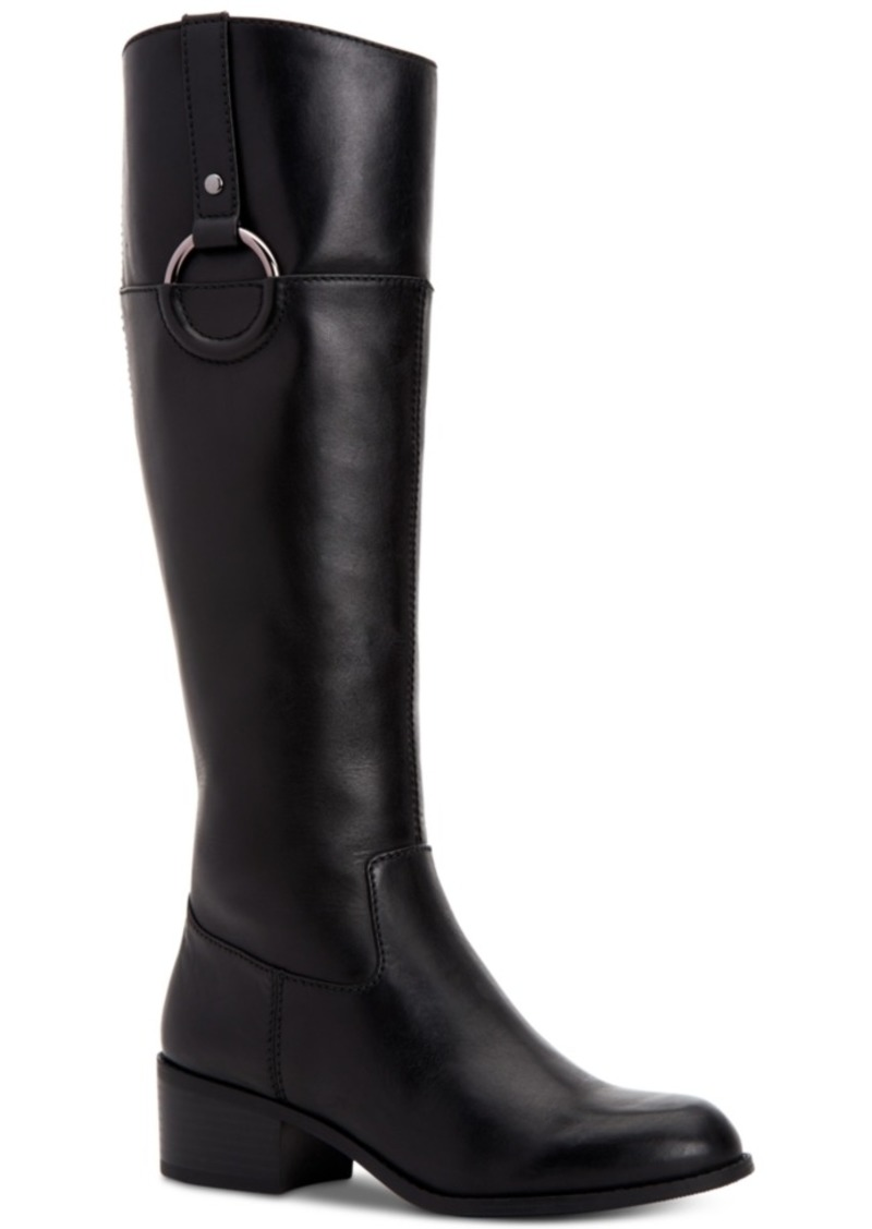 Alfani Women's Step 'N Flex Briaah Wide-Calf Riding Boots, Created for Macy's Women's Shoes