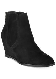Alfani Women's Calistah Wedge Ankle Booties, Only at Macy's Women's Shoes