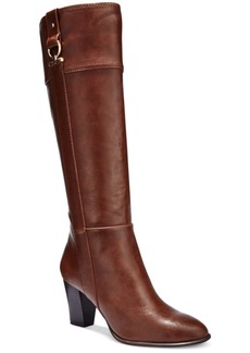 Alfani Women's Courtnee Tall Wide-Calf Boots, Only at Macy's Women's Shoes