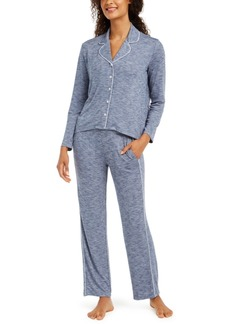 Alfani Women's Cozy Knit Pajama Set, Created for Macy's
