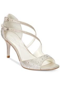 Alfani Women's Cremena Asymmetrical Evening Sandals, Created for Macy's Women's Shoes