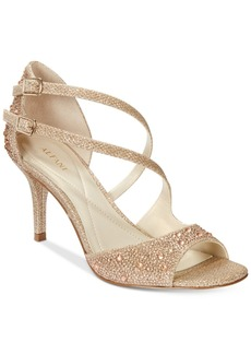 Alfani Women's Cremena Asymmetrical Evening Sandals, Only at Macy's Women's Shoes