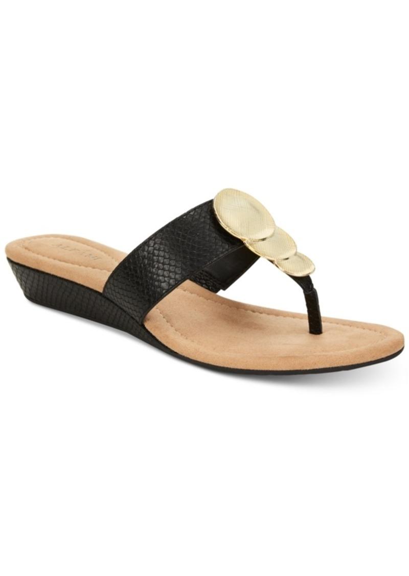 df221bf7a4e4 Alfani Alfani Women s Fleurr Wedge Sandals