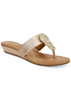 Alfani Women's Fleurr Wedge Sandals, Created for Macy's Women's Shoes