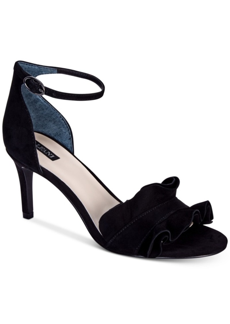 Alfani Alfani Women S Grayy Ruffle Dress Sandals Created