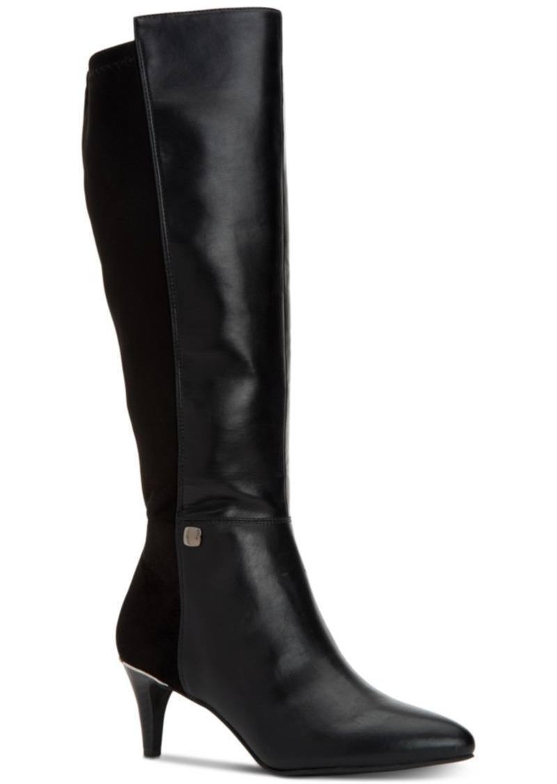 79e5484552a9 Alfani Alfani Women s Step  N Flex Hakuu Wide-Calf Dress Boots ...