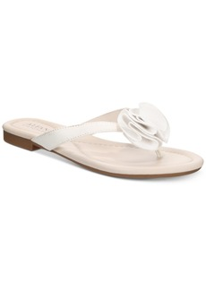 Alfani Women's Heathh Step 'N Flex Flip Flops, Created for Macy's Women's Shoes