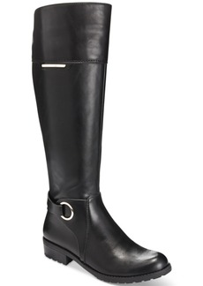 Alfani Women's Jadah Tall Wide-Calf Riding Boots, Only at Macy's Women's Shoes