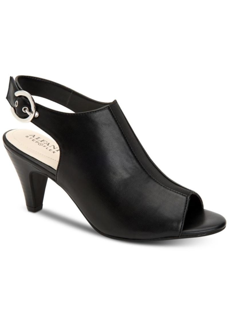 Alfani Women's Jalenne Step 'N Flex Slingback Shooties, Created for Macy's Women's Shoes