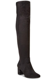 Alfani Women's Novaa Step 'N Flex Wide-Calf Over-The-Knee Boots, Created For Macy's Women's Shoes