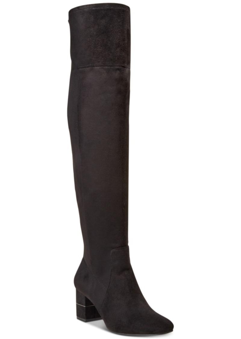 Alfani Women's Step 'N Flex Novaa Over-The-Knee Boots, Created For Macy's Women's Shoes