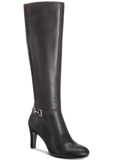 Alfani Women's Wide-Calf Perrii Boots, Created for Macys Women's Shoes