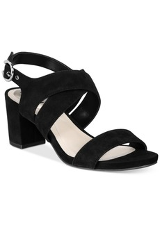 Alfani Regann Step 'N Flex Block-Heel Sandals, Created for Macy's Women's Shoes