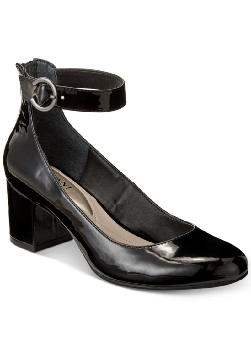 4e2beb9ae Women's Step 'N Flex Ashiaa Ankle-Strap Pumps, Created for Macy's Women's  Shoes. Alfani