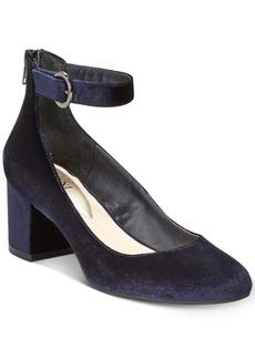 Alfani Women's Step 'N Flex Ashiaa Ankle-Strap Pumps, Created for Macy's Women's Shoes