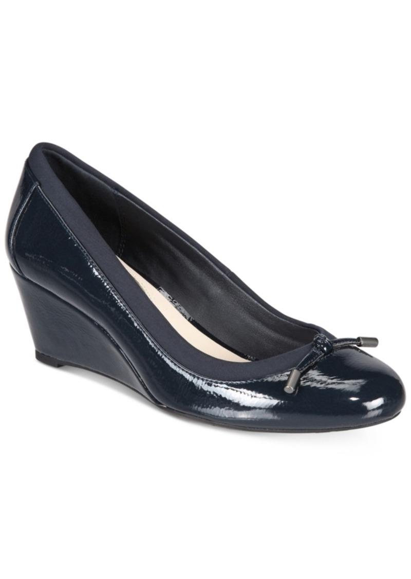 Alfani Women's Step 'N Flex Baille Wedge Pumps, Created for Macy's Women's Shoes
