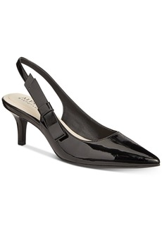 Alfani Women's Step 'N Flex Bennii Slingback Pumps, Created For Macy's Women's Shoes