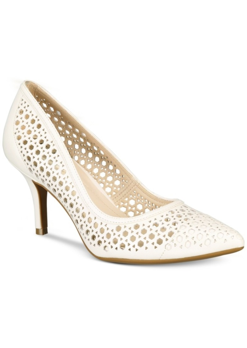 alfani alfani s step n flex jennah perforated pumps