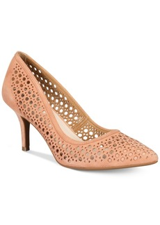 Alfani Women's Step 'N Flex Jennah Perforated Pumps, Created for Macy's Women's Shoes