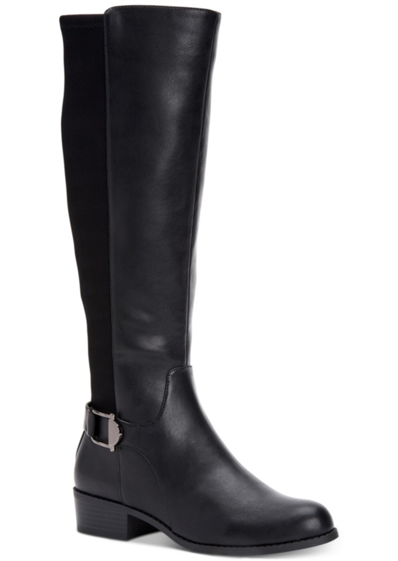 Alfani Women's Step 'N Flex Kallumm Wide-Calf Boots, Created for Macy's Women's Shoes