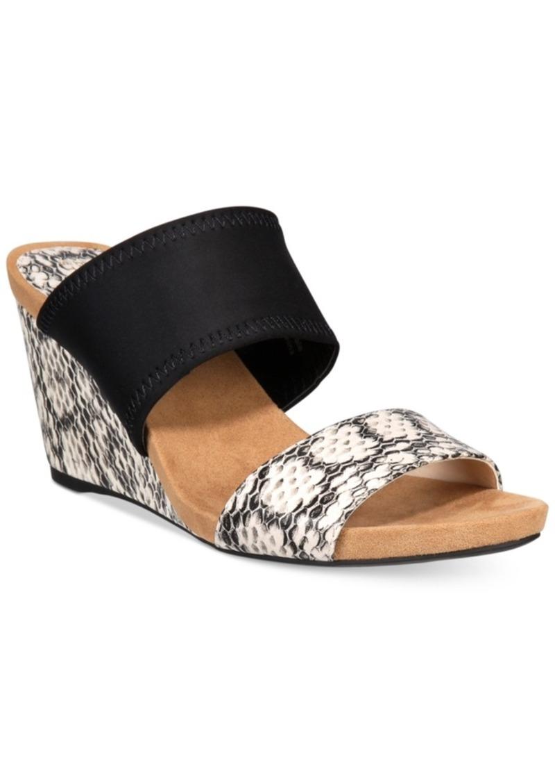 b4d83a26b7c9 Alfani Alfani Women s Step  N Flex Parrker Slip-On Wedge Sandals ...