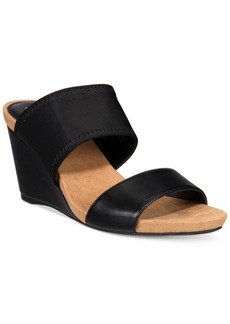 Alfani Women's Step 'N Flex Parrker Slip-On Wedge Sandals, Only at Macy's Women's Shoes