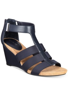 Alfani Women's Step 'N Flex Pearrl Wedge Sandals, Only at Macy's Women's Shoes