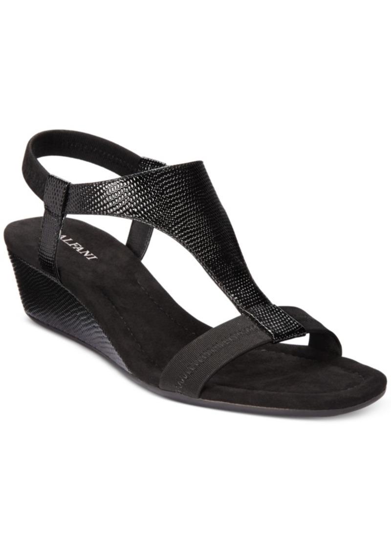 Alfani Women's Step 'N Flex Vacanzaa Wedge Sandals, Created for Macy's Women's Shoes
