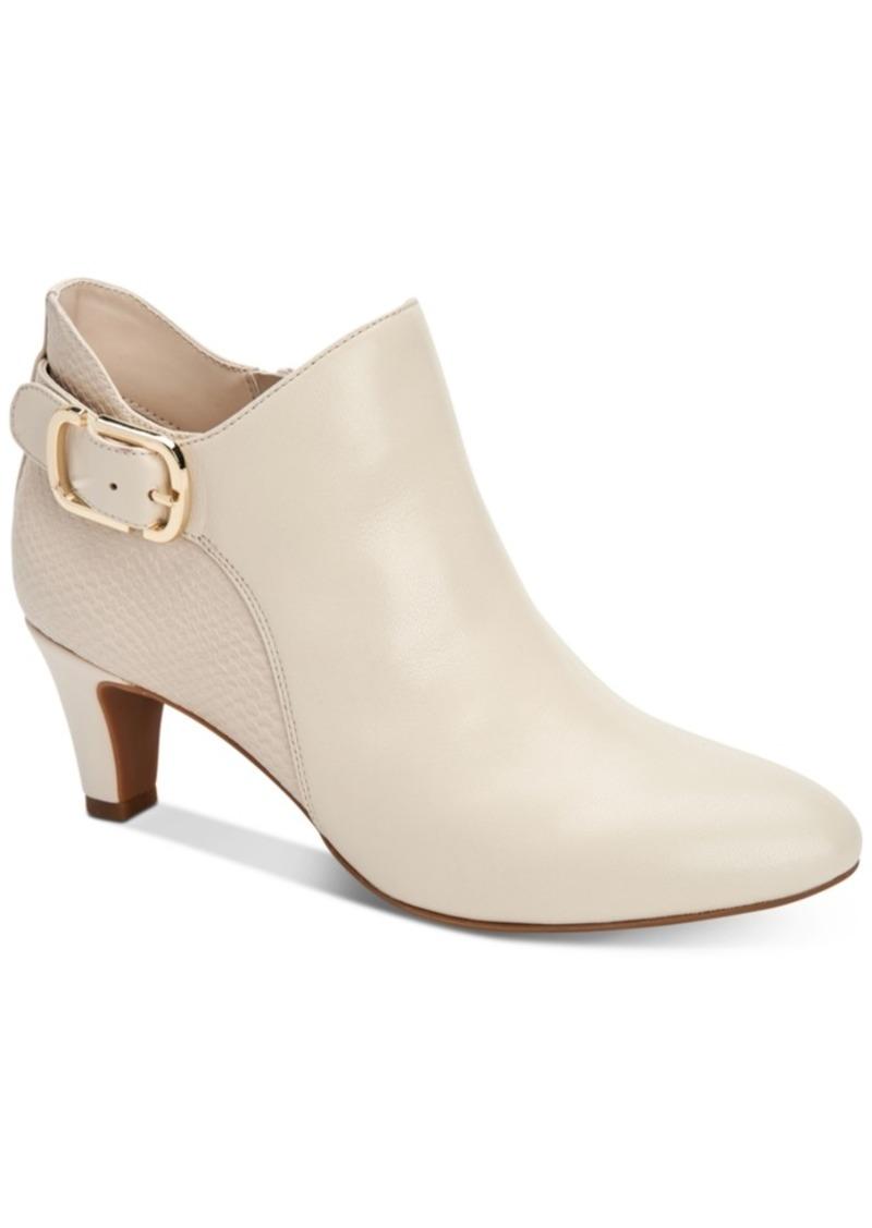 Alfani Women's Step 'N Flex Valmontt Booties, Created for Macy's Women's Shoes