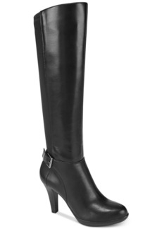 Alfani Women's Vennuss Step 'N Flex Wide-Calf Dress Boots, Created for Macy's Women's Shoes
