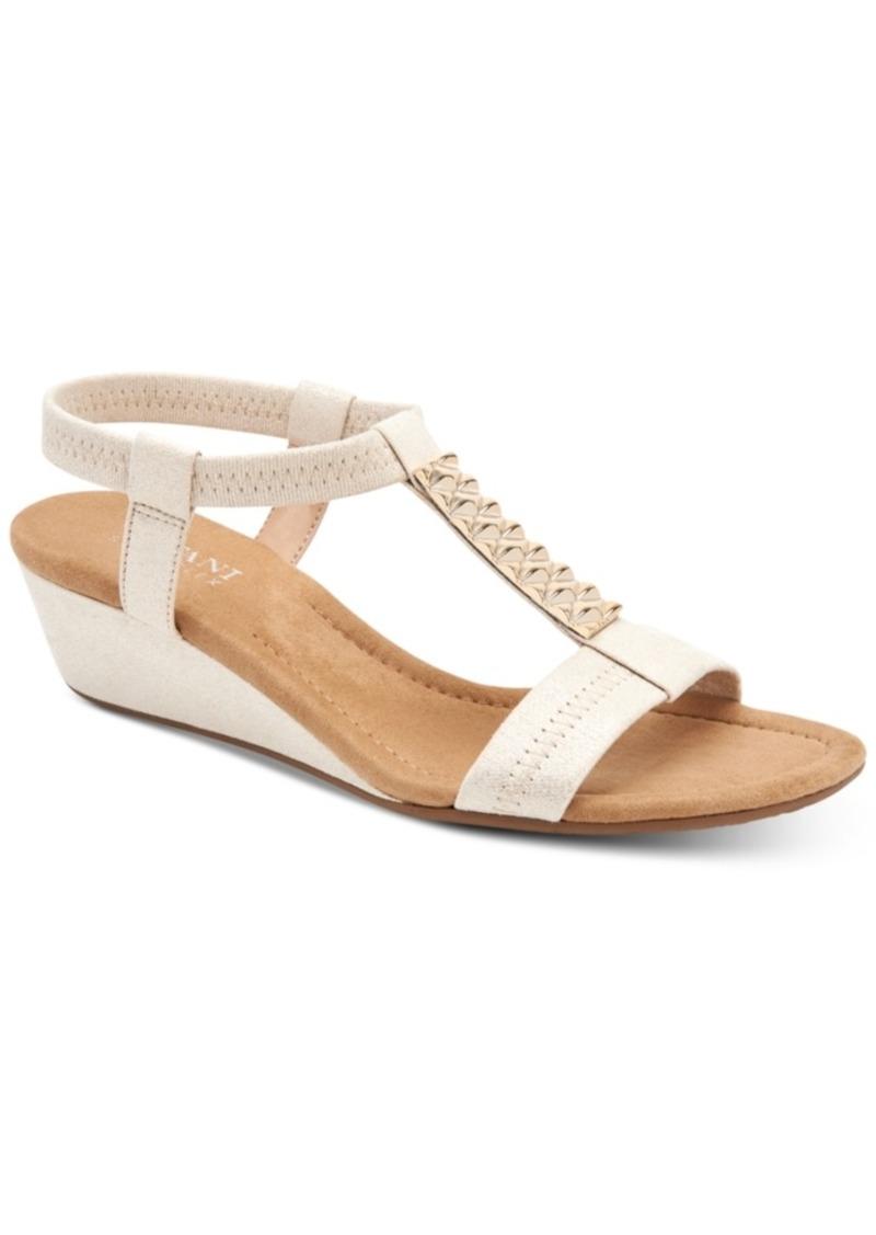 Alfani Women's Step 'N Flex Viennaa Wedge Sandals, Created for Macy's Women's Shoes