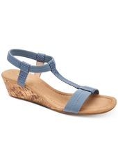 Alfani Women's Step 'N Flex Voyage Wedge Sandals, Created for Macy's Women's Shoes