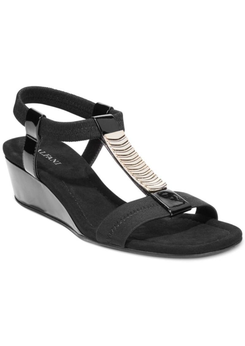 Alfani Women's Vacay Wedge Sandals, Created for Macy's Women's Shoes