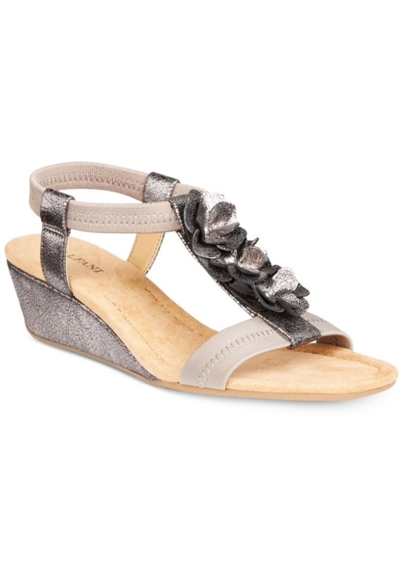 Alfani Women's Valensia Wedge Sandals, Created for Macy's Women's Shoes