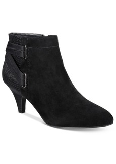 Alfani Women's Vandela Ankle Booties, Only at Macy's Women's Shoes