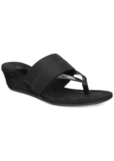 Alfani Women's Viiva Slip-On Wedge Sandals, Only at Macy's Women's Shoes