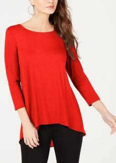 Alfani Woven-Back Top, Created for Macy's