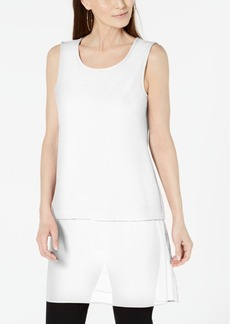 Alfani Woven-Hem Tunic, Created for Macy's