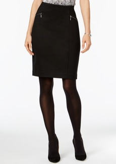Alfani Zip-Pocket Pencil Skirt, Only at Macy's