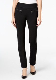 Alfani Zip-Pocket Pull-On Pants, Only at Macy's