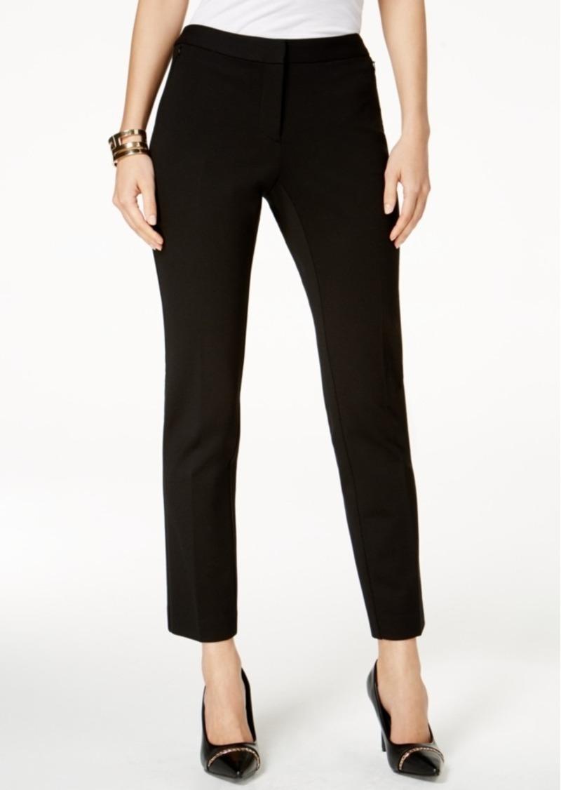 Alfani Zip-Pocket Skinny Pants, Created for Macy's