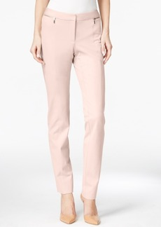 Alfani Zip-Pocket Slim-Leg Trousers, Only at Macy's