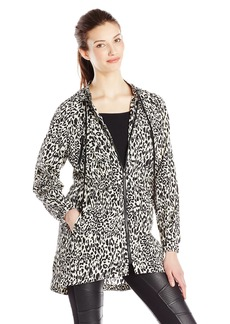 Ali Ro Women's Long-Sleeve Animal-Print Anorak