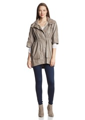 Ali Ro Women's Roll-Tab Anorak Coat