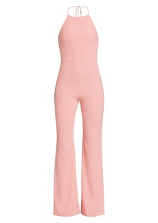 Alice + Olivia Adinah High-Neck Jumpsuit