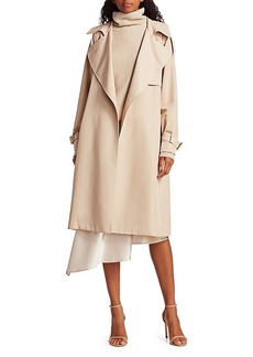 Alice + Olivia Adrien Trench Coat